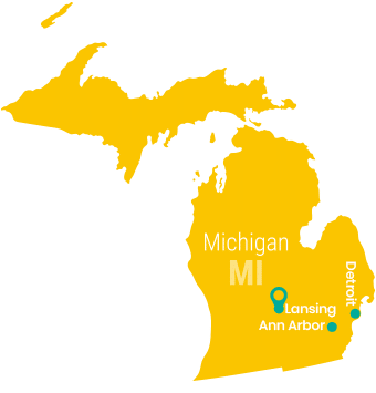 michigan_Map_Preschool_Teacher_Salary
