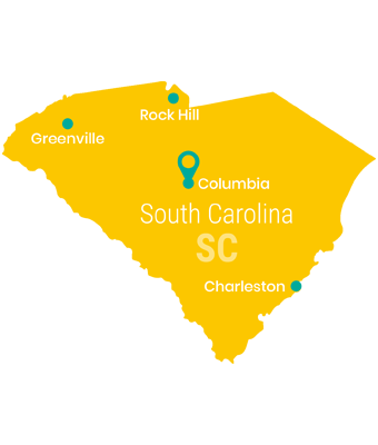 south_carolina_Map_Preschool_Teacher_Salary