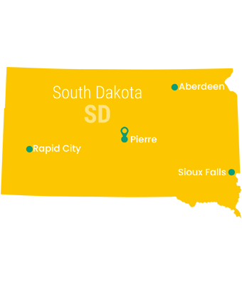 south_dakota_Map_Preschool_Teacher_Salary